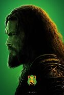 Justice League Aquaman Charakterposter 2