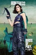 Birds of Prey deutsches Charakterposter Huntress