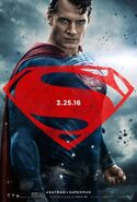 Batman v Superman - Dawn of Justice Charakterposter Superman