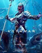 Aquaman Orm Charakterposter