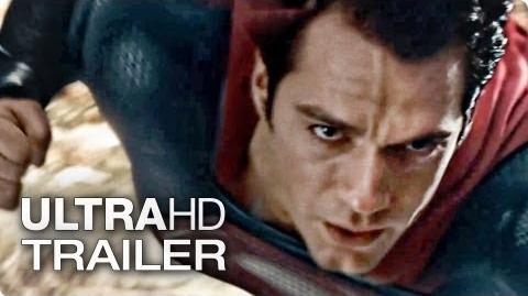 MAN OF STEEL Extended Trailer 3 Deutsch German 2013 Official Film Ultra-HD 4K