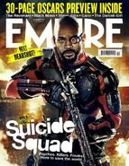Empire Cover Suicide Squad Dezember 2015 Version Deadshot