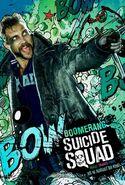 Suicide Squad deutsches Charakterposter Boomerang