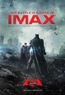 Batman v Superman - Dawn of Justice IMAX Poster