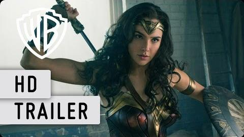 WONDER WOMAN - Trailer 1 Deutsch HD German (2016)