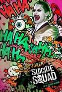 Suicide Squad deutsches Charakterposter Joker
