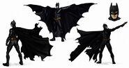 Batman Begins Konzeptzeichnung 1