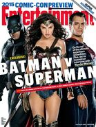 BvS Entertainment Weekly Cover