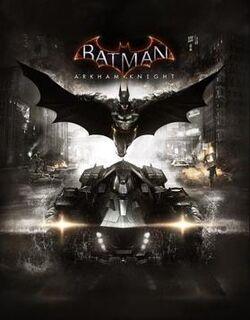Batman Arkham Knight Videogame Cover