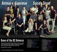 Batman v Superman & Suicide Squad Cast Comic Con 2015 Bild 3