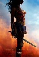 Wonder Woman Teaserposter