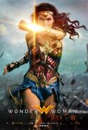 Wonder Woman deutsches Kinoposter 2