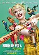 Birds of Prey deutsches Kinoposter 2