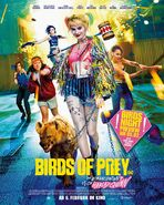 Birds of Prey deutsches Kinoposter 3