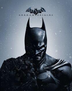 Batman Arkham Origins Videogame Cover