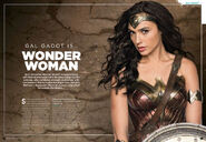 Batman v Superman - Wonder Woman Spread