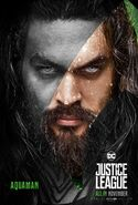 Justice League Aquaman Charakterposter 4