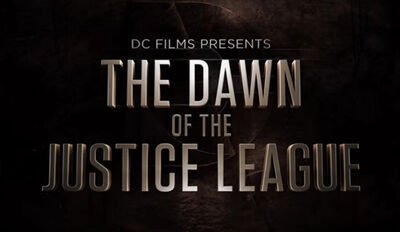 Dawn of the Justice League Logo