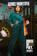 Birds of Prey Charakterposter Renee Montoya