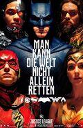 Justice League deutsches Teaserposter 3