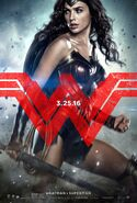 Batman v Superman - Dawn of Justice Charakterposter Wonder Woman