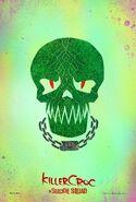 Suicide Squad Charakterposter Killer Croc