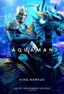 Aquaman Nereus deutsches Charakterposter