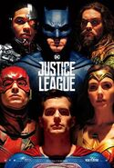 Justice League US Kinoposter Superman