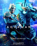 Aquaman Nereus Charakterposter