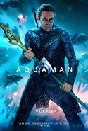 Aquaman Vulko deutsches Charakterposter