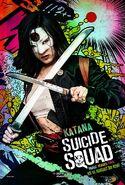 Suicide Squad deutsches Charakterposter Katana