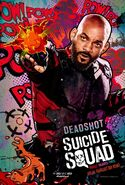 Suicide Squad deutsches Charakterposter Deadshot