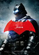 Batman v Superman - Dawn of Justice deutsches Charakterposter Batman