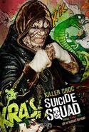 Suicide Squad deutsches Charakterposter Killer Croc