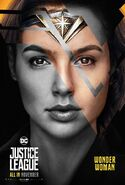 Justice League Wonder Woman Charakterposter 4