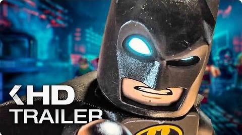 THE LEGO BATMAN MOVIE Trailer German Deutsch (2016)