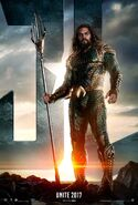 Justice League Aquaman Charakterposter