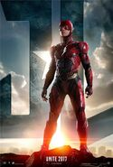 Justice League deutsches Flash Charakterposter