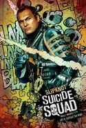 Suicide Squad deutsches Charakterposter Slipknot