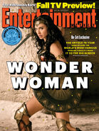 Wonder Woman Entertainment Weekly Cover