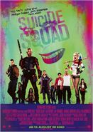 Suicide Squad drittes deutsches Kinoposter