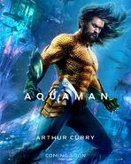 Aquaman Arthur Curry Charakterposter