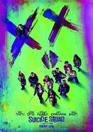 Suicide Squad zweites deutsches Filmposter