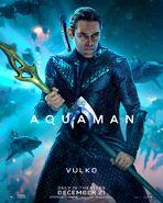 Aquaman Vulko Charakterposter