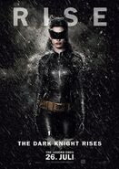 The Dark Knight Rises Charakterposter Catwoman