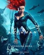Aquaman Mera Charakterposter