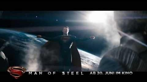 Man of Steel - Hope 20 TV Spot Deutsch