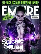 Empire Cover Suicide Squad Dezember 2015 Version Joker