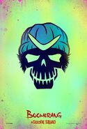 Suicide Squad Charakterposter Captain Boomerang