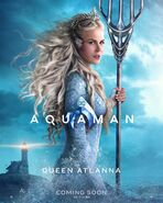 Aquaman Atlanna Charakterposter
